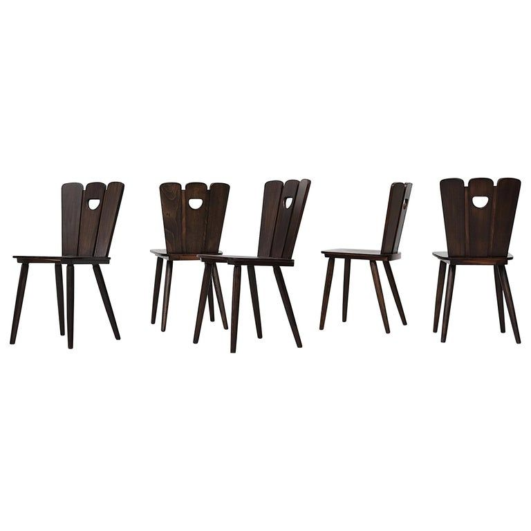 6 IKEA GILBERT chairs | Chair, Cafe