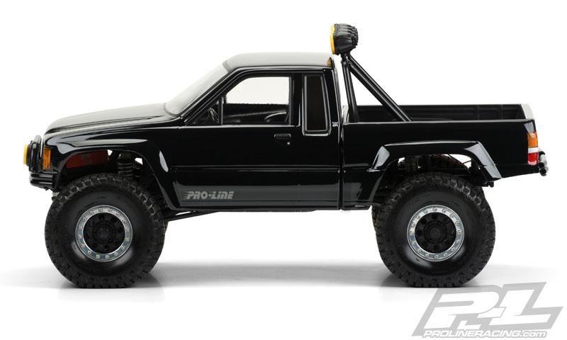 Pro Line 3466 00 1985 Toyota Hilux Sr5 Clear Body Scx10 Toyota Hilux Rock Crawler Toyota