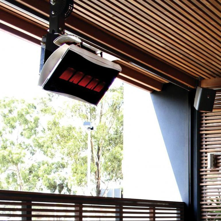 Bromic Heating Platinum 500 SmartHeat 29Inch 39800 BTU Natural Gas Patio Heater  BH0110003