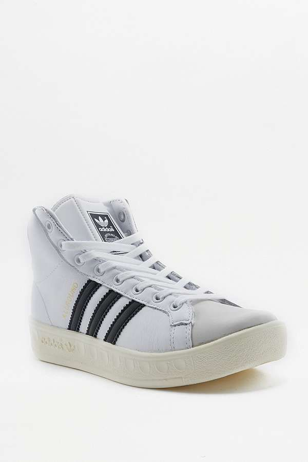 Slide View  1  adidas Originals - Baskets montantes Allround blanches 910eb0ee40