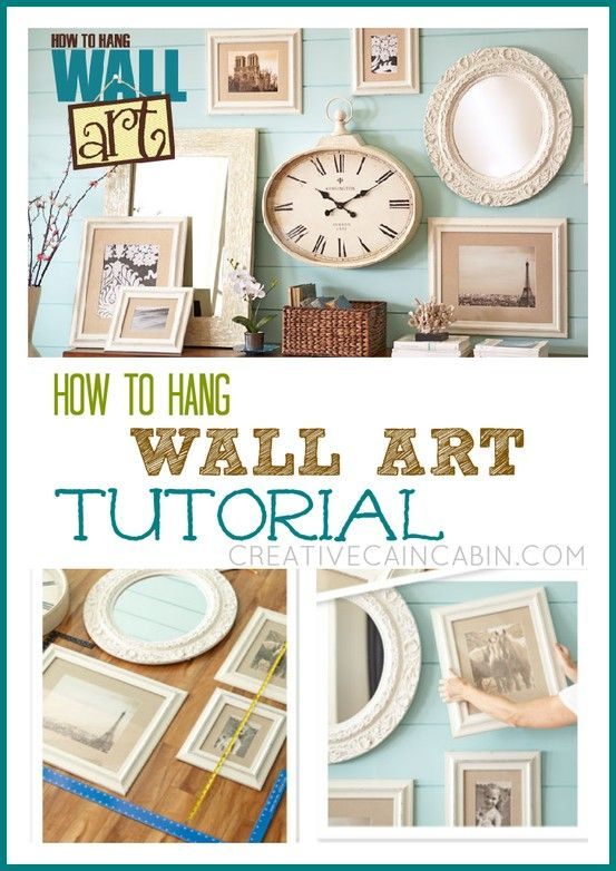 How To Hang Wall Art Tutorial