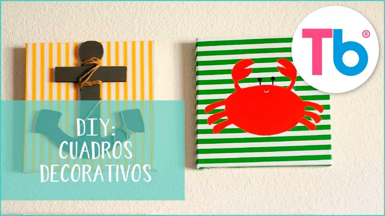 DIY Marcos decorativos | Manualidades fáciles para niños, Marcos ...