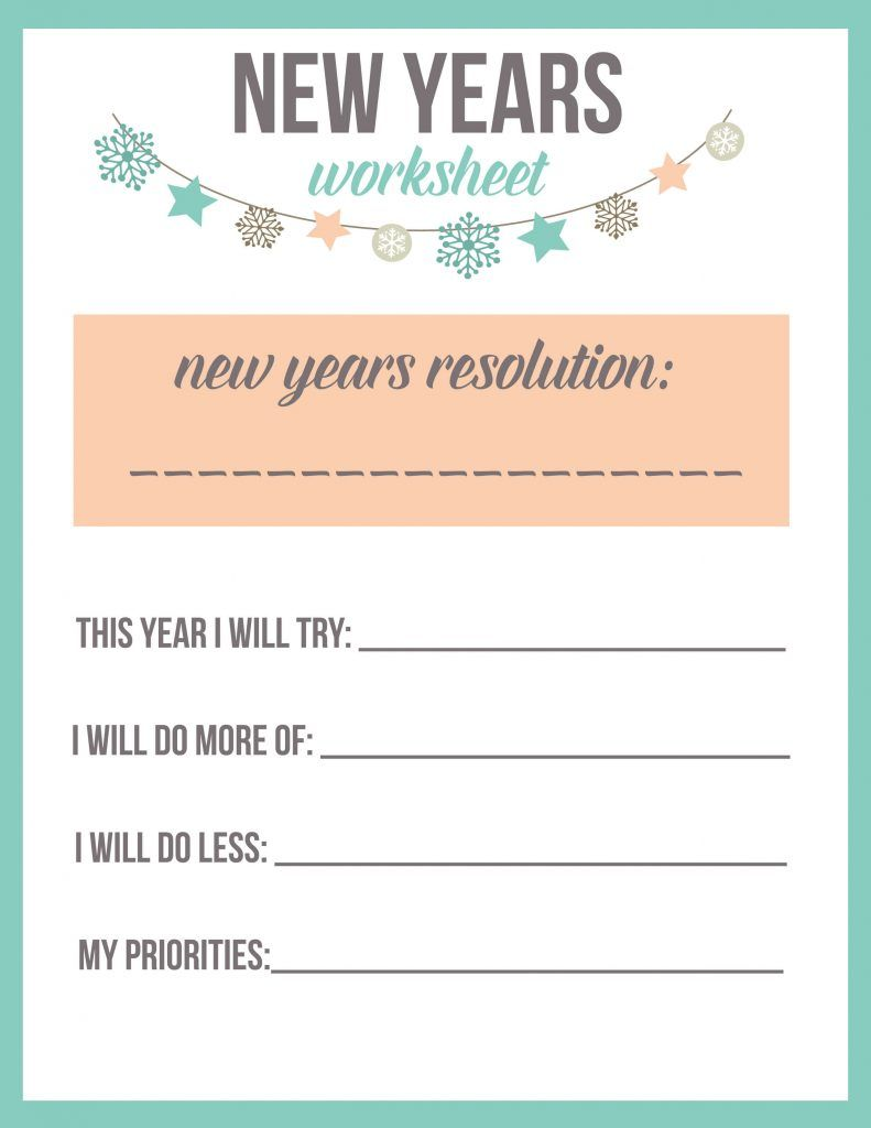 15 New Year S Eve Ideas For Kids The Best Ideas For Kids New Years Resolution New Years Resolution Kids New Year Printables