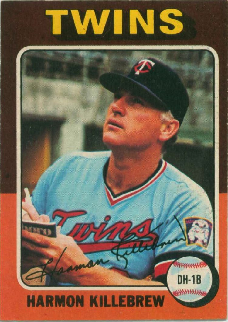 1975 Topps Baseball Baseball cards, Twins baseball