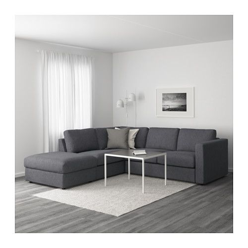 vimle sectional 4 seat corner with open end gunnared beige vimle sectional 4 seat corner with open end gunnared beige      rh   pinterest co uk
