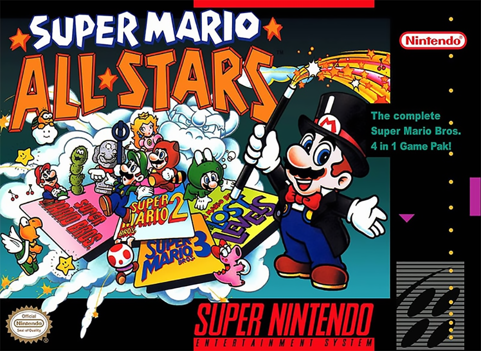 4e28bf8194f 25th Anniversary  Super Mario All-Stars by Nintendo EAD https   www