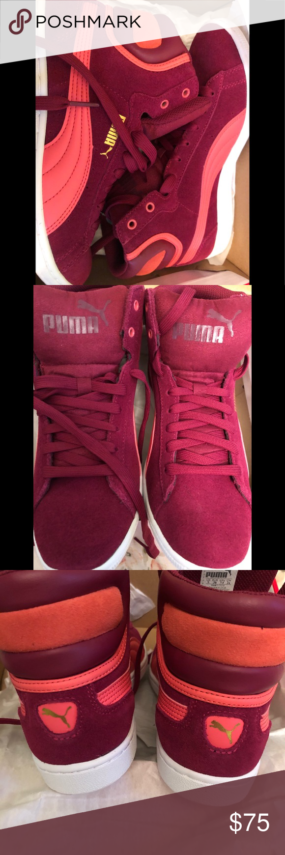 Puma Damen Thunder Electric Sneakers Ecru