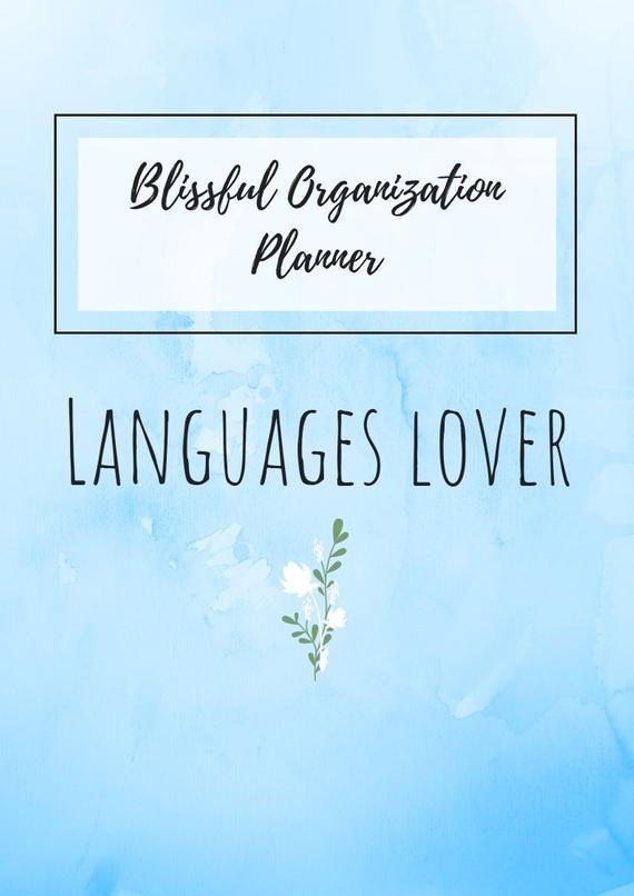 Planner, Blissful Organization Binder, Organizer, Habit