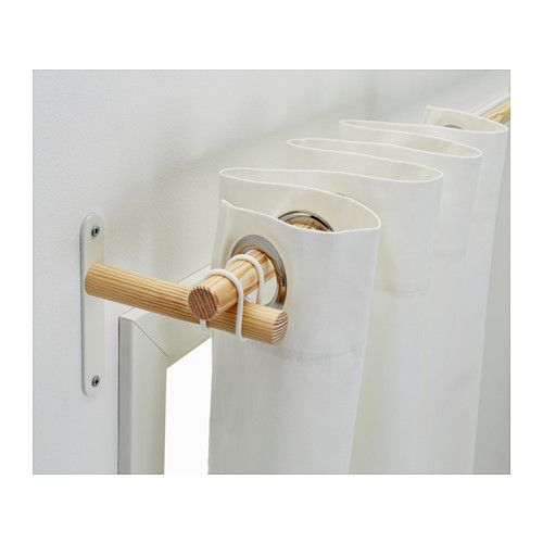 rods ikea combination curtain double rod