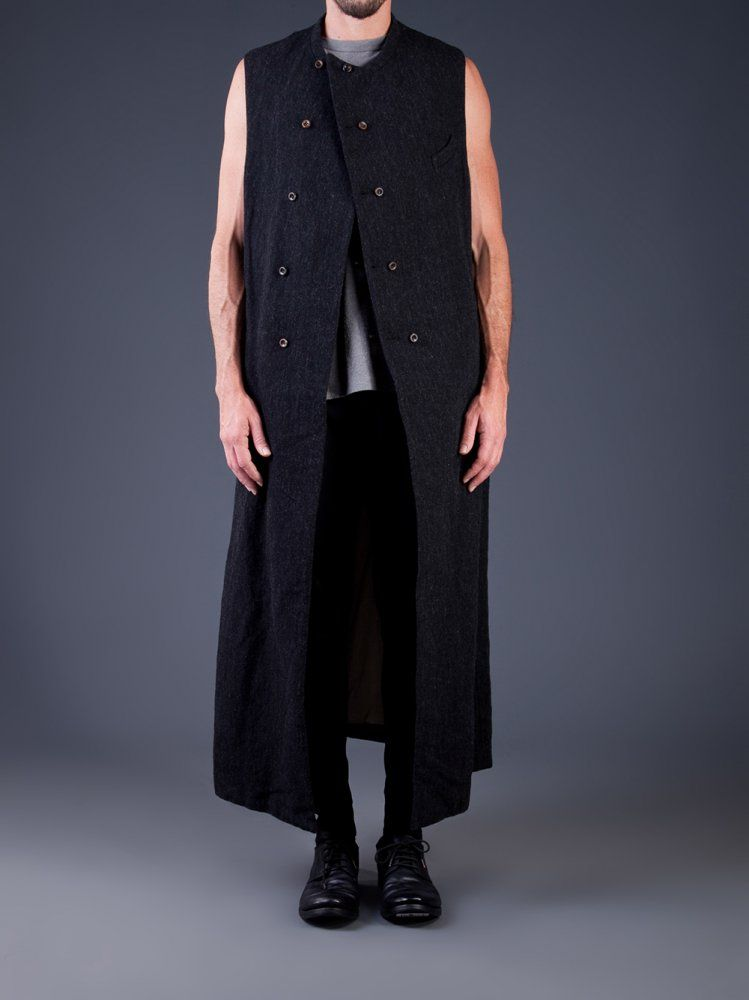 Visions of the Future // ZIGGY CHEN - Wool Linen Sleeveless Long ...