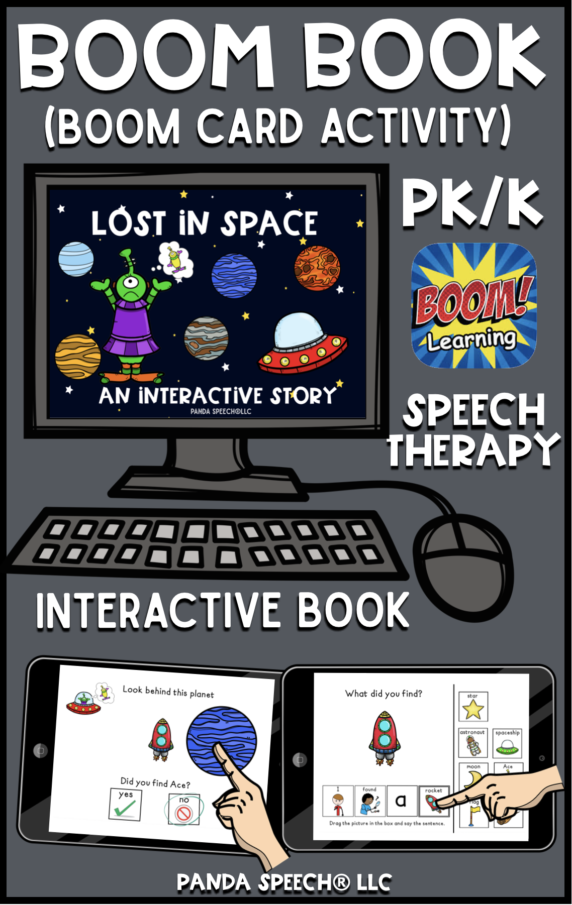 Lost In Space Boom Book Boom Card Activity Distance