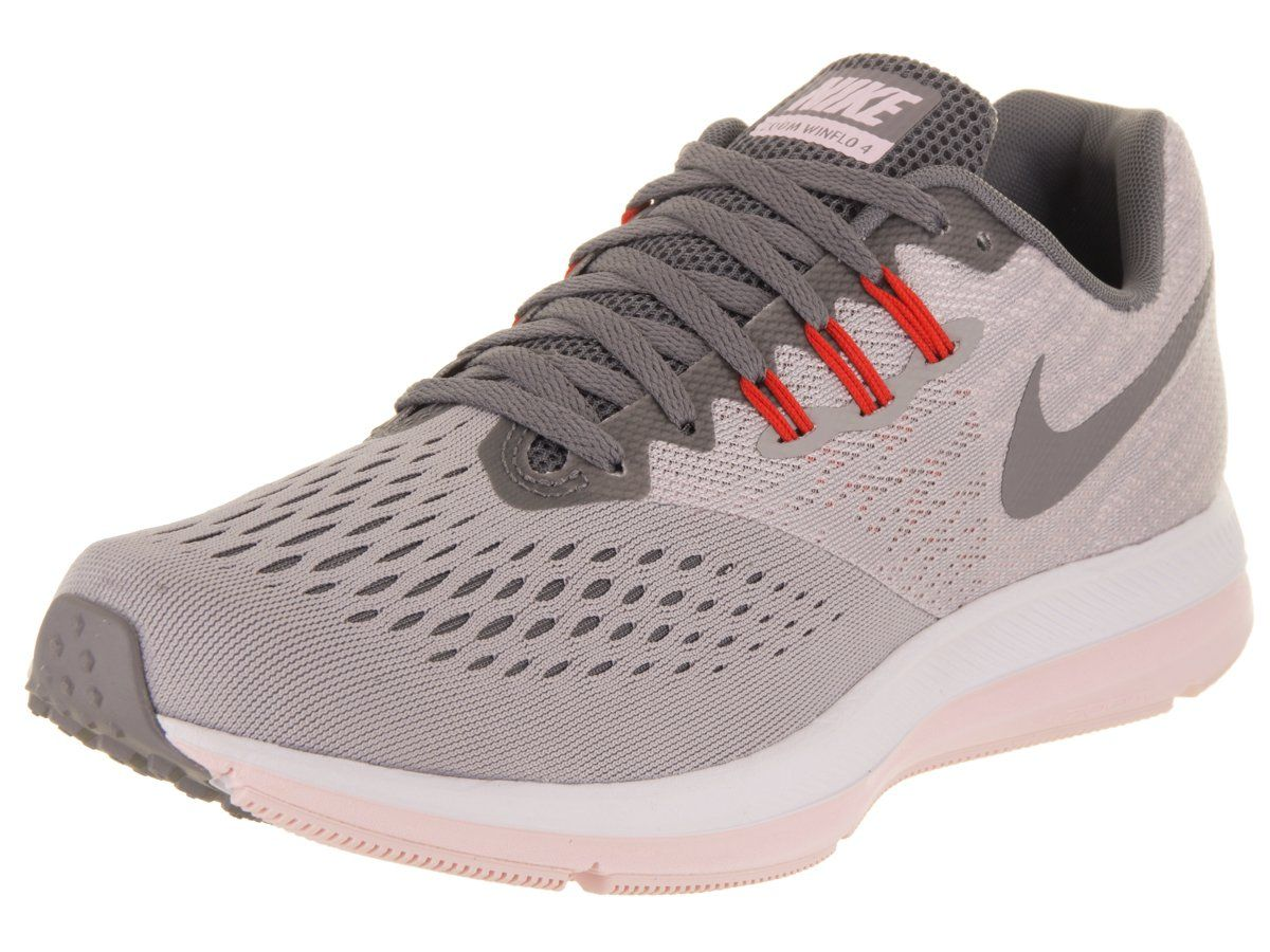 Zoom Winflo 4, Chaussures de Running Homme, Noir (Black/White-Dark Grey), 39 EUNike