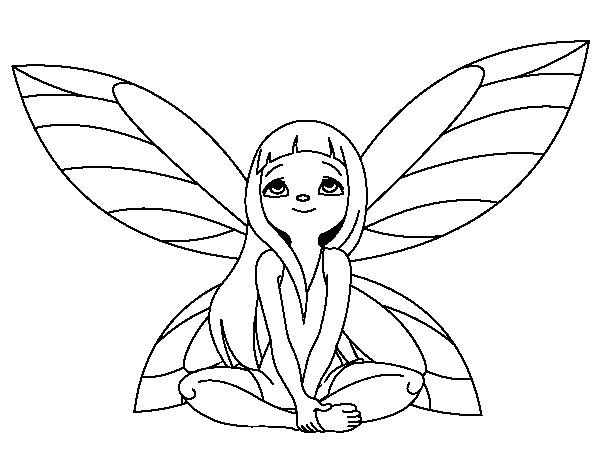 Desenhos Para Colorir Fadas Fairy Coloring Pages Art
