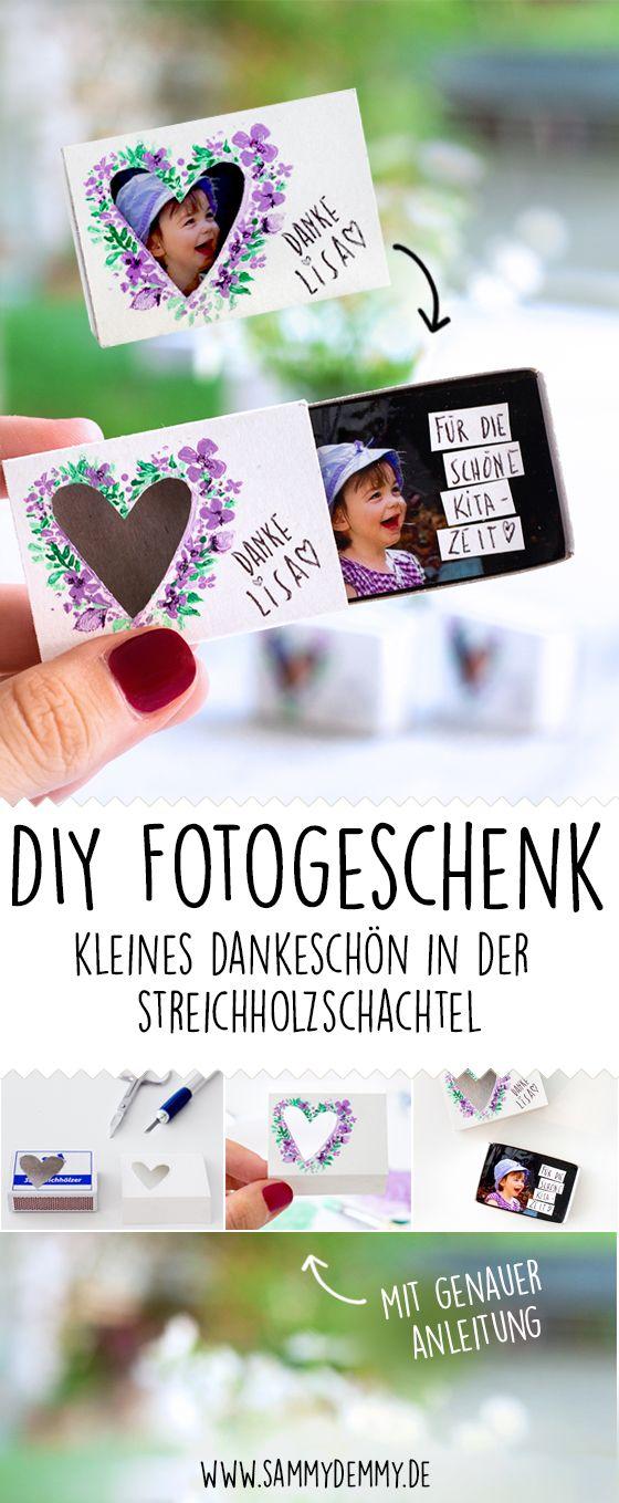 Fotogeschenk, Fotogeschenk DIY, Fotogeschenk Ideen, Geschenk ...