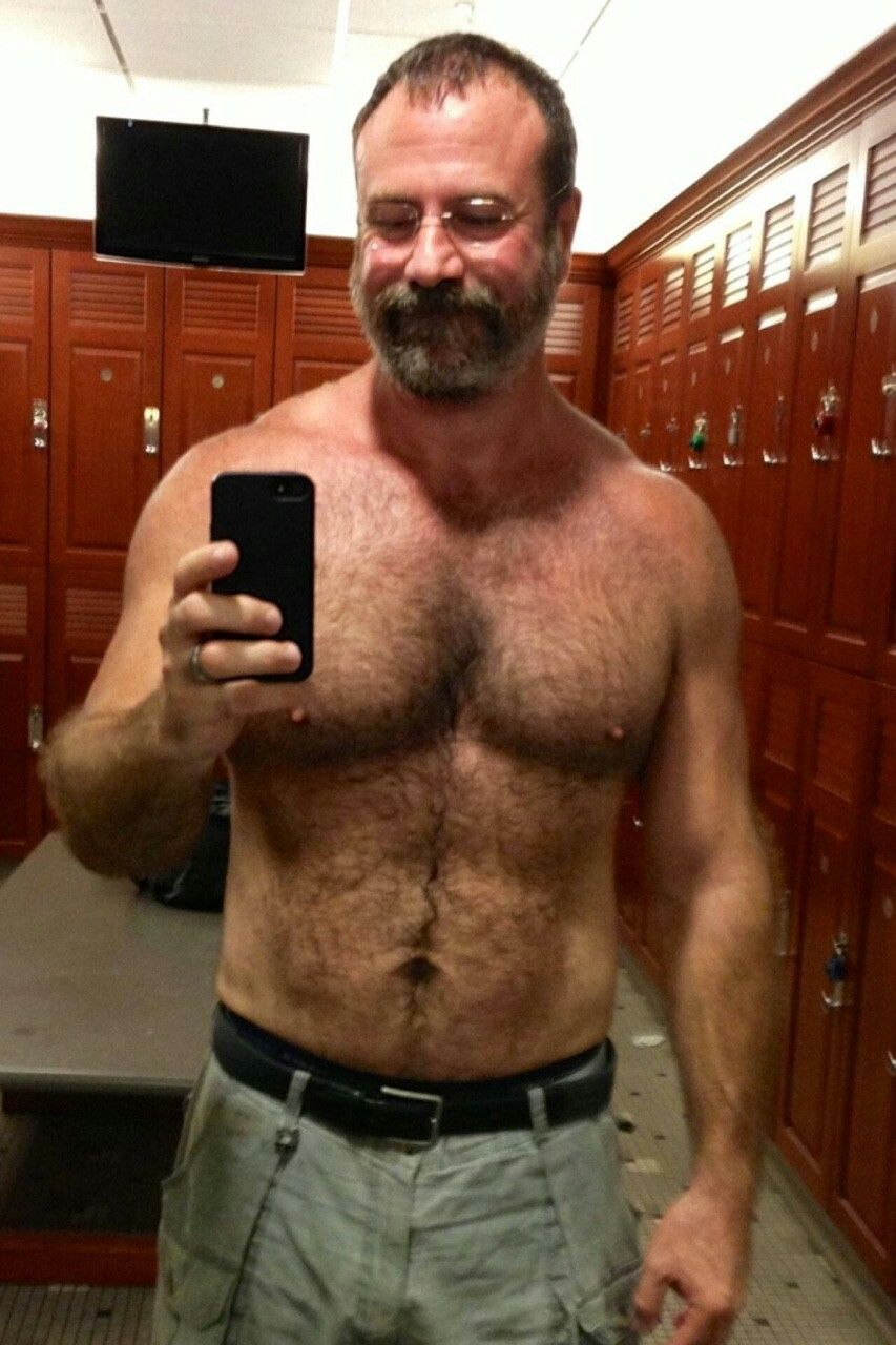 Hairy older men