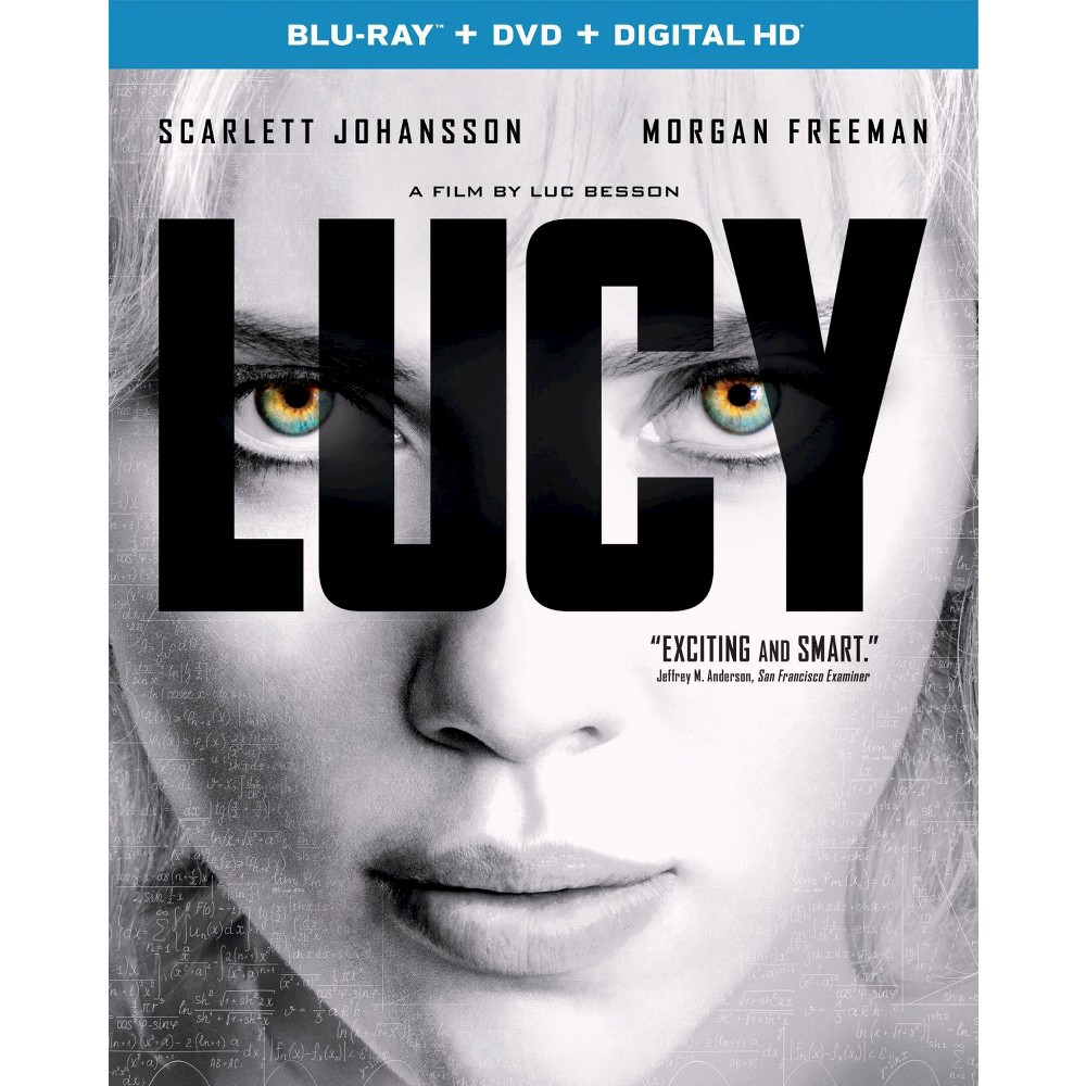 Lucy (2 Discs) (Includes Digital Copy) (Blu-ray/Dvd) | POSTER DE ...