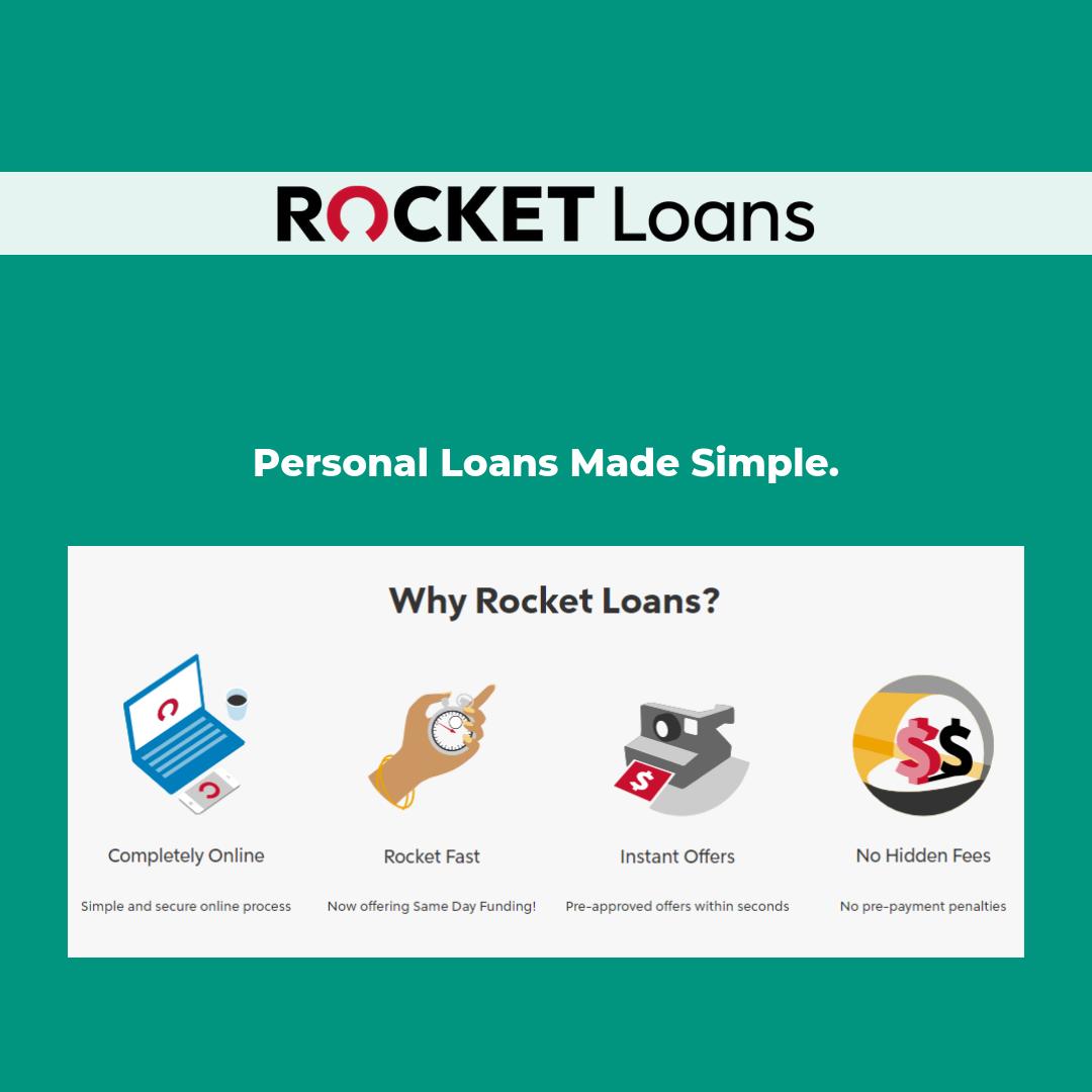 Pin By Rocket Loans On Rocket Loans Personal Loans Loan Fee Simple