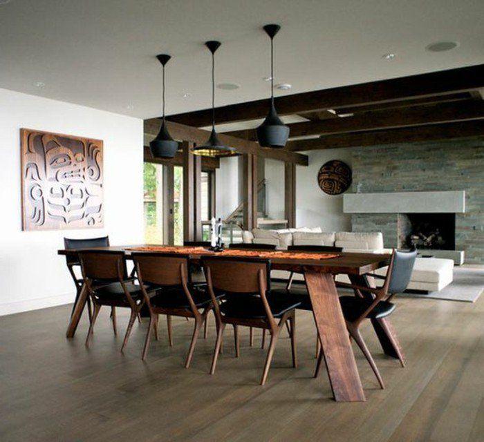 La meilleure table de salle à manger design en 42 photos! Lights - modele de salle a manger design