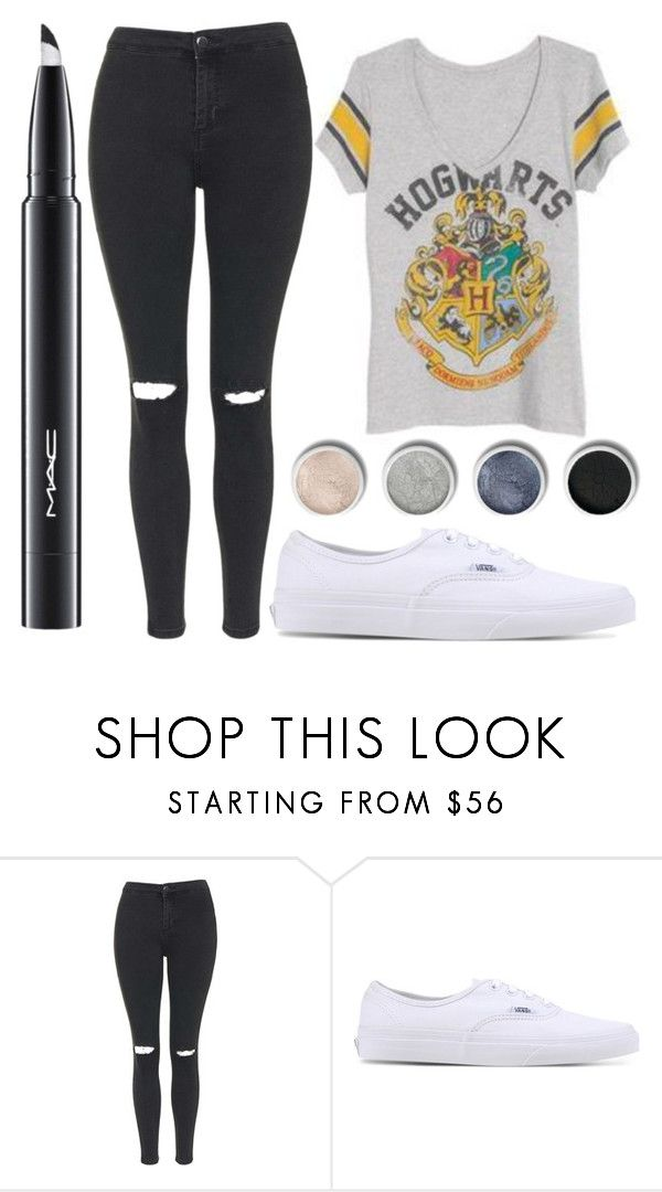 """""""Untitled #1850"""" by perbhaatkhowaja on Polyvore featuring Hurley, Topshop, Vans, Terre Mère and MAC Cosmetics"""