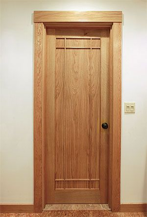 Laminated Custom Interior Doors Fine Homebuilding Article Room