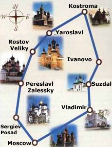 Visit Some Of Russia S Historic Golden Ring Towns With Viking River Cruises The Golden Ring Is Among Russia Travel Golden Ring Russia Viking Cruises Rivers