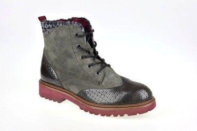 Trzewiki Botki Szare Tamaris 37 25255 27 6568494106 Oficjalne Archiwum Allegro Combat Boots Boots Hiking Boots