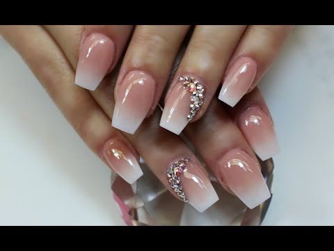 matte acrylic nails  change nail shape  redesign