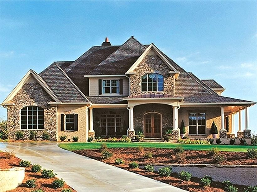 Image result for brick house plans with front porch one