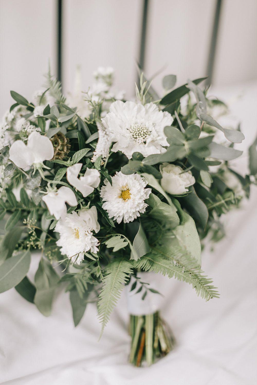 Healey Barn Wedding Rustic Natrual Greenery Wedding Bouquets