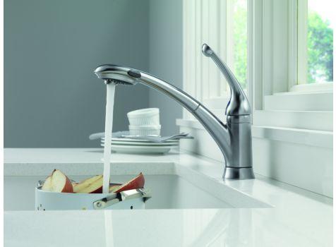 Delta Faucet Model 470 Ar Dst Single Handle Kitchen Faucet