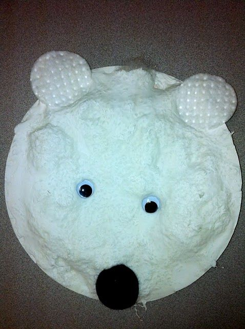 This is a perfect crafty idea for my polar bear obsessed son.