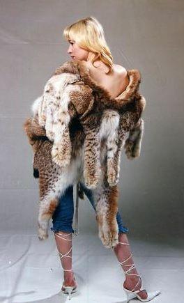 Lynx Pelt Coat