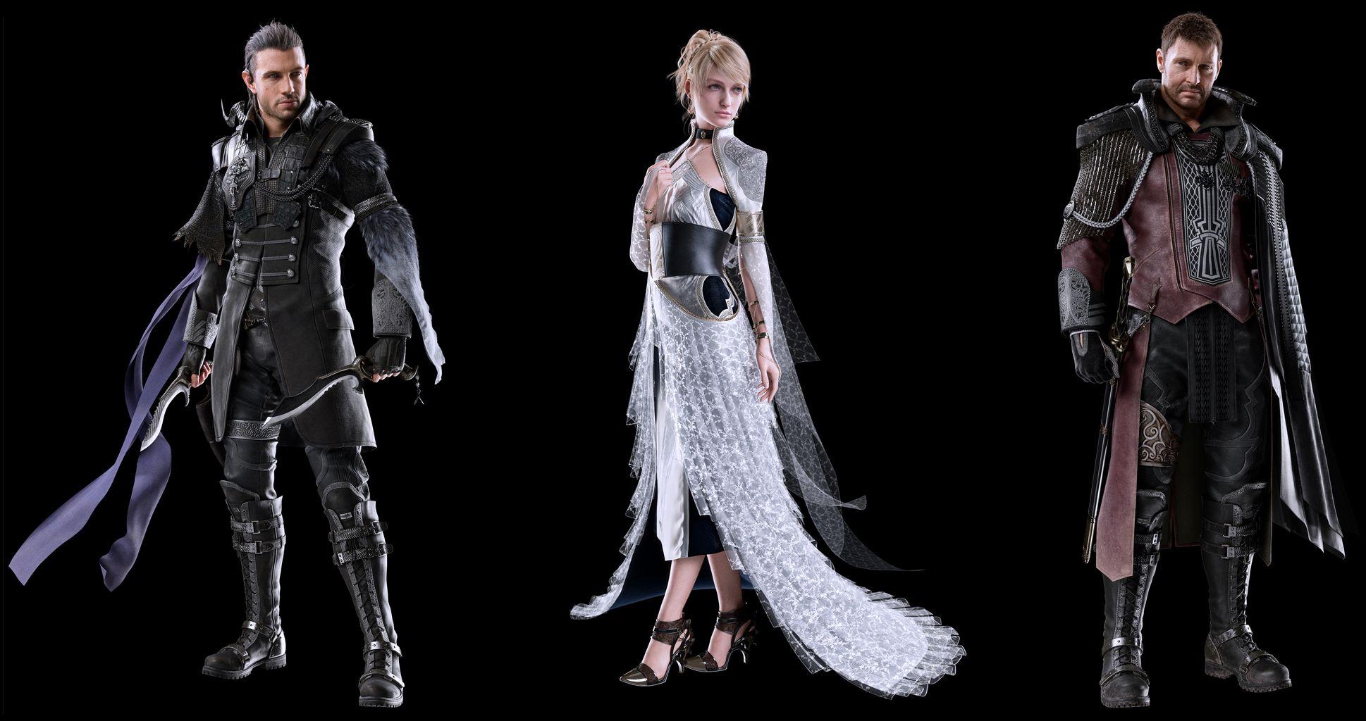 Character Design Final Fantasy Xv : Kingsglaive final fantasy xv character renders g