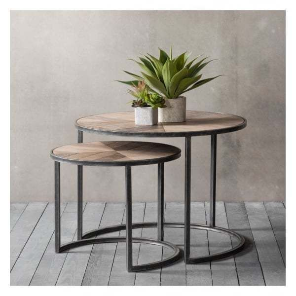 frank hudson gallery direct douglas coffee table nest of 2 on exclusive modern nesting end tables design ideas very functional furnishings id=59915