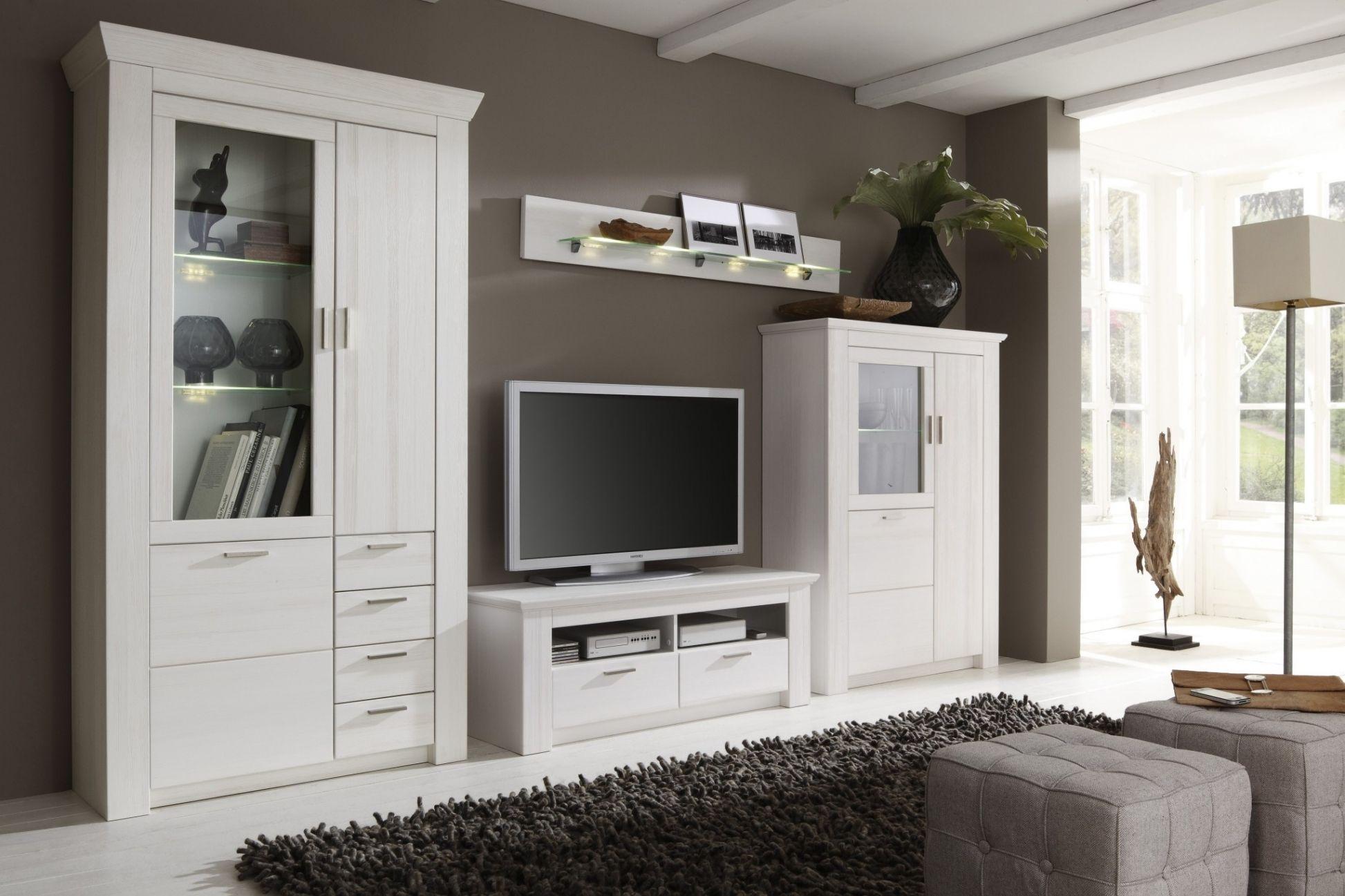 Lovely Wohnwand Landhaus Modern  Wohnzimmermbel in 2019