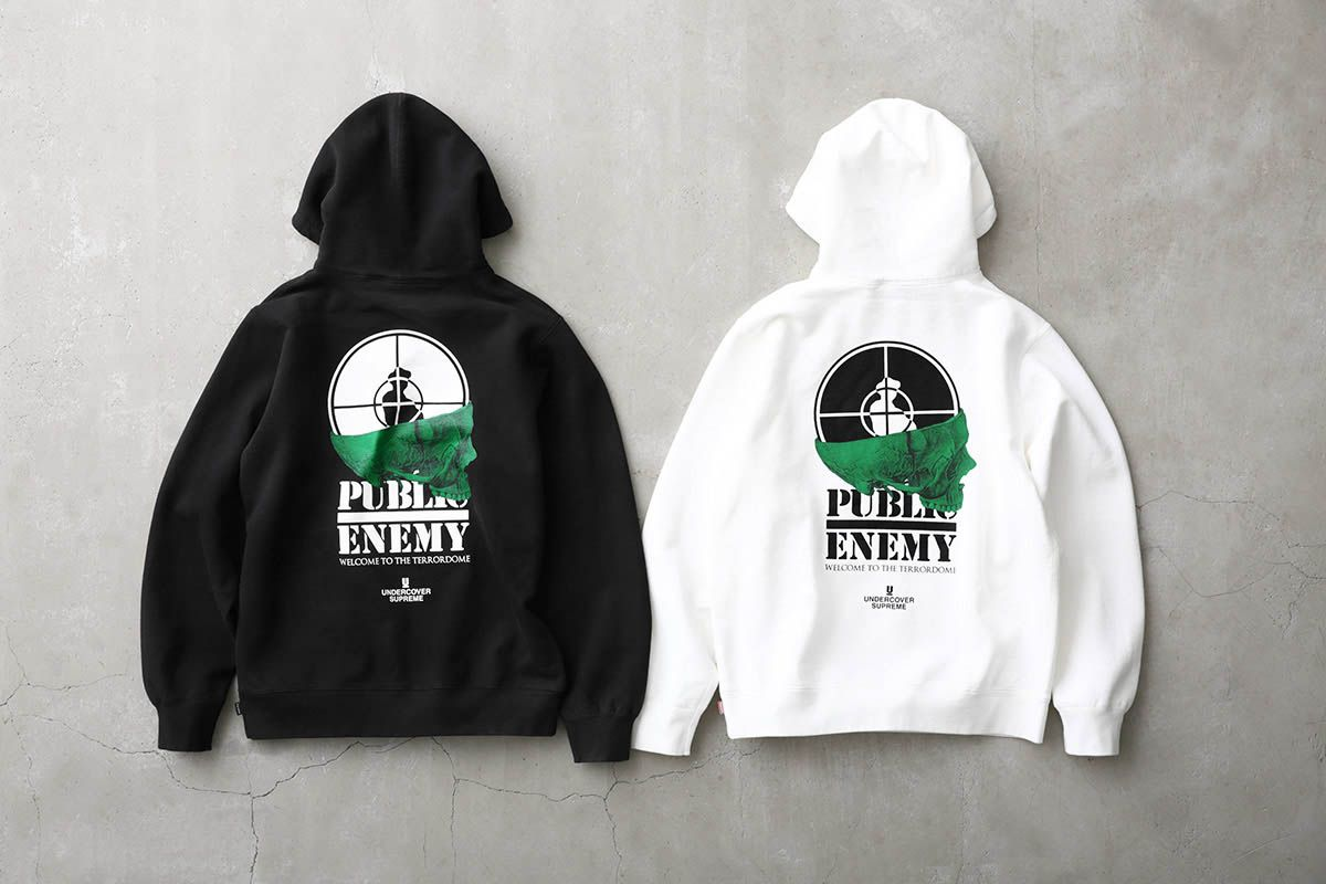 df71075f92d3 Supreme x Public Enemy & UNDERCOVER SS18: Here's All The Pieces ...