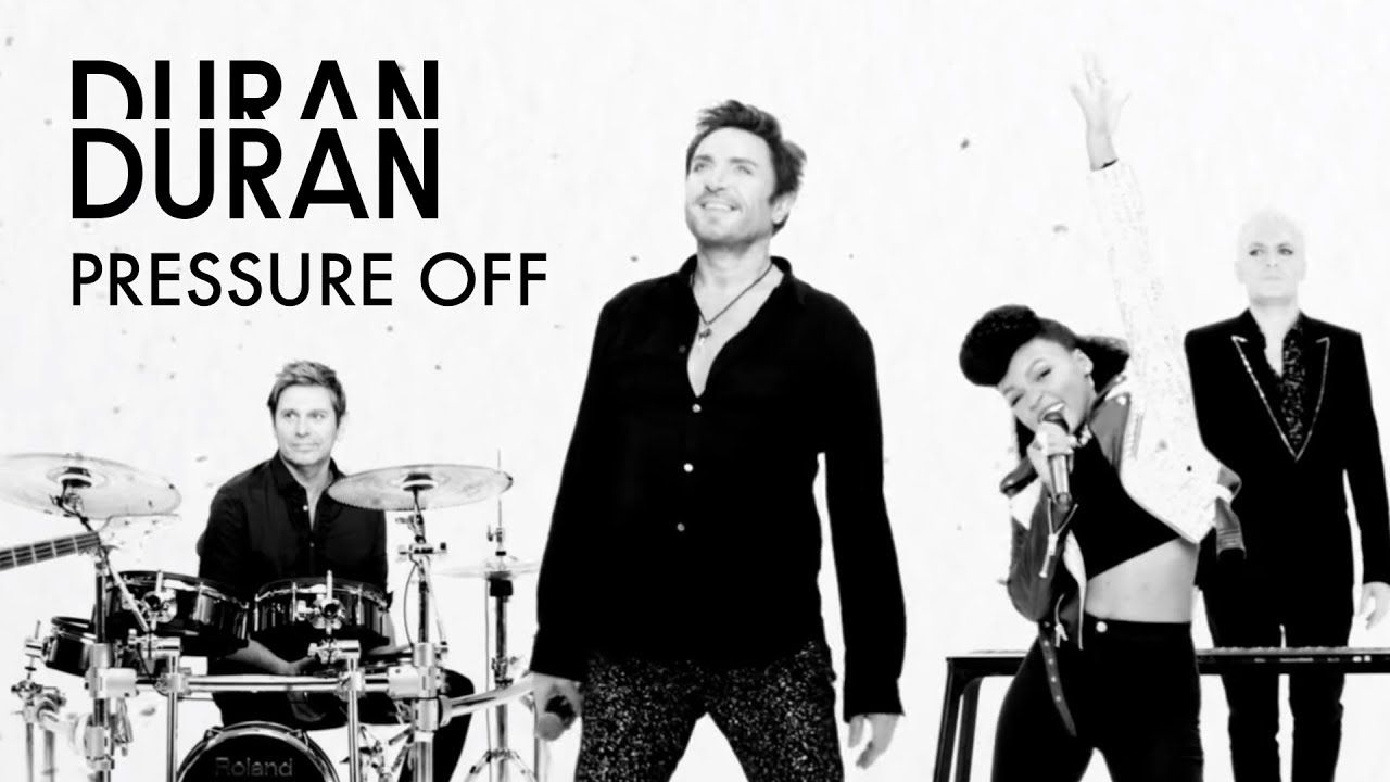 Duran Duran Pressure Off Feat Janelle Monae And Nile Rodgers Official Music Video Youtube Duran Music Videos Youtube Videos Music