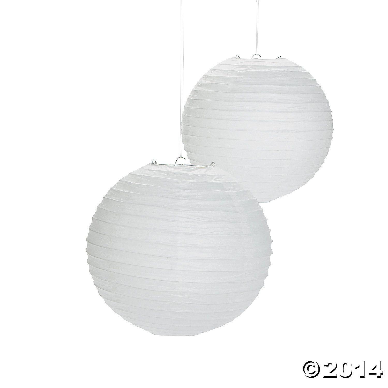 White+Paper+Lanterns+-+12+-+OrientalTrading.com | Party | Pinterest ...