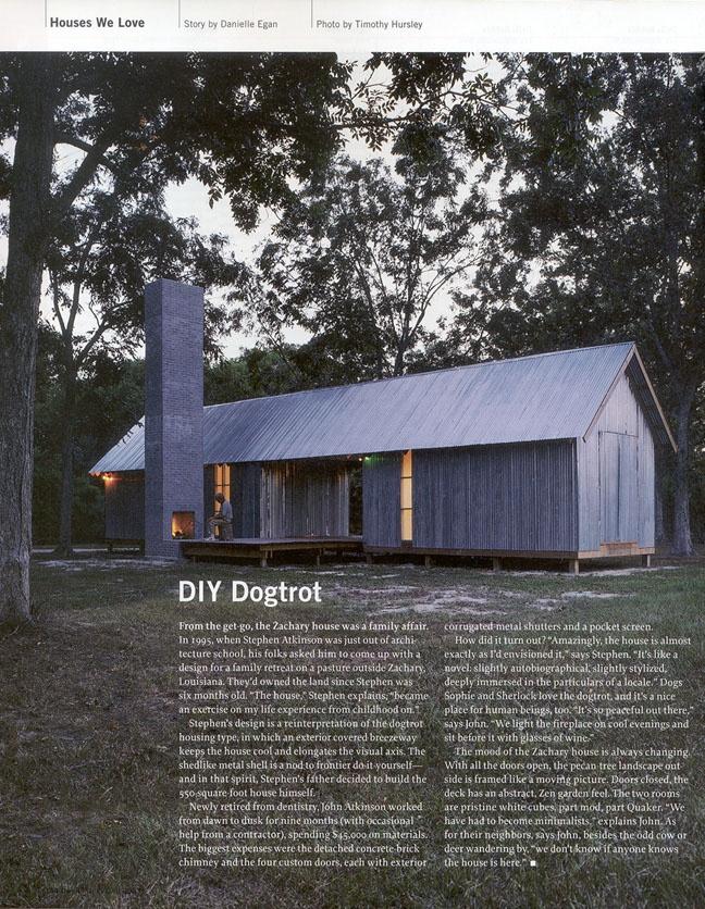 Larameeee — Dogtrot House - Zachary House 1995