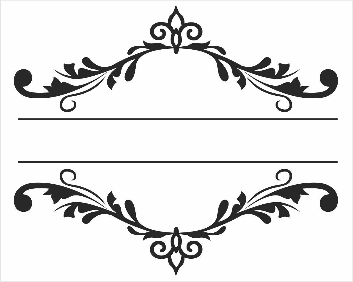 molduras arabescos - Pesquisa Google | logo | Cricut, Silhouette ...