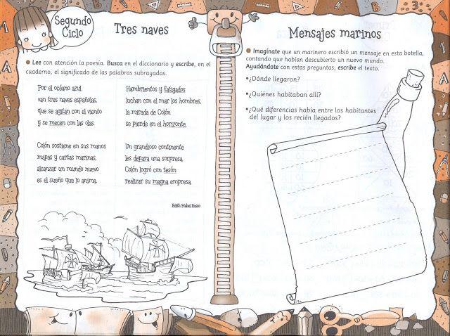 Los Duendes Y Hadas De Ludi Día De La Hispanidad Día De La Hispanidad Cristobal Colon Para Niños Cristobal Colón