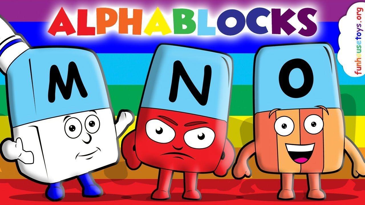 Alphablocks Coloring Video Number Videos Preschool Printables Educational Videos
