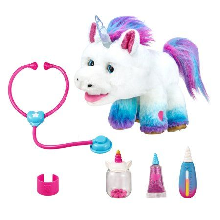 Little Live Rainglow Unicorn Vet Electronic Pet Set Walmart Com Little Live Pets Magical Accessories Unicorn