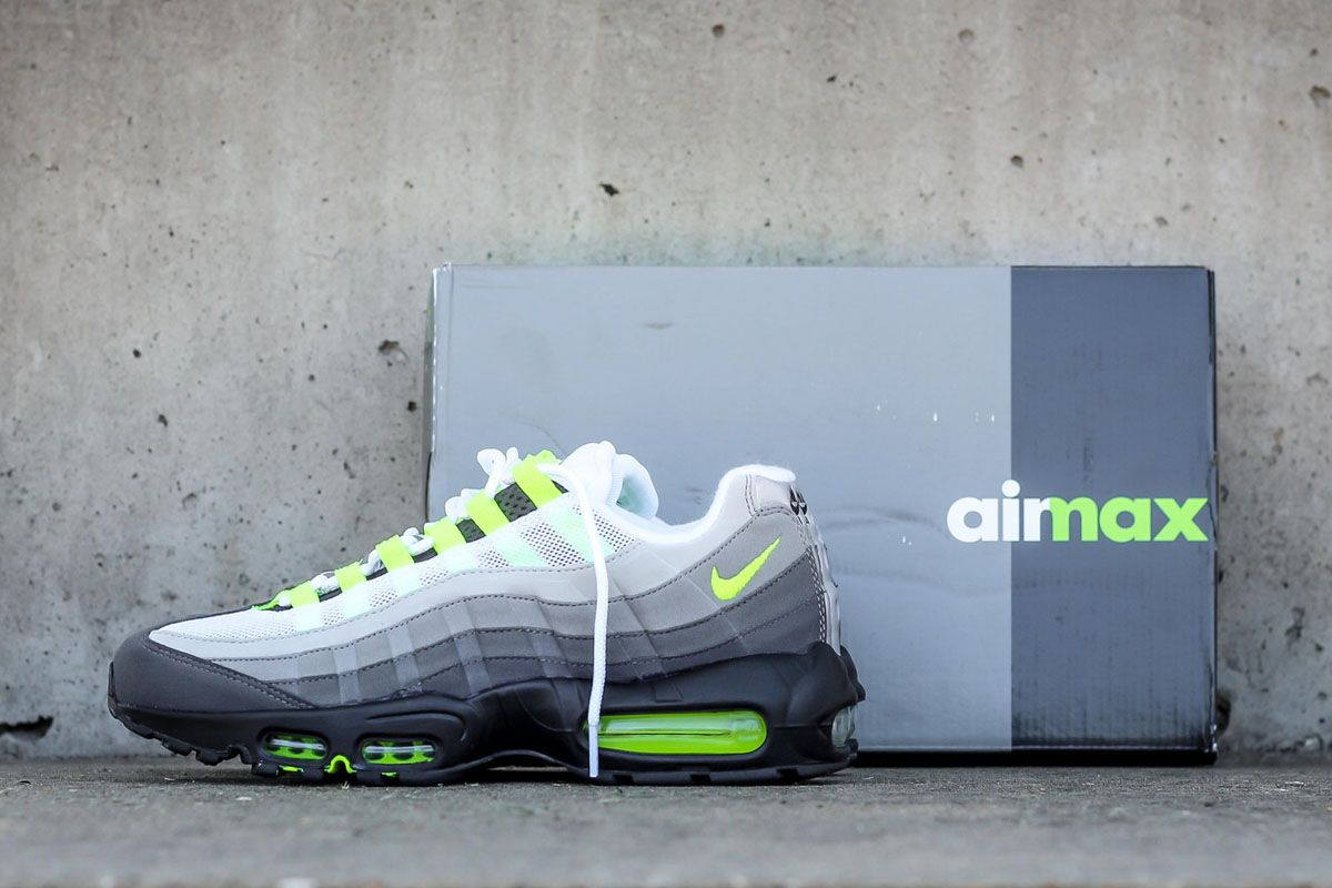 The Nike Air Max 95 OG Neon is Being Brought Back This