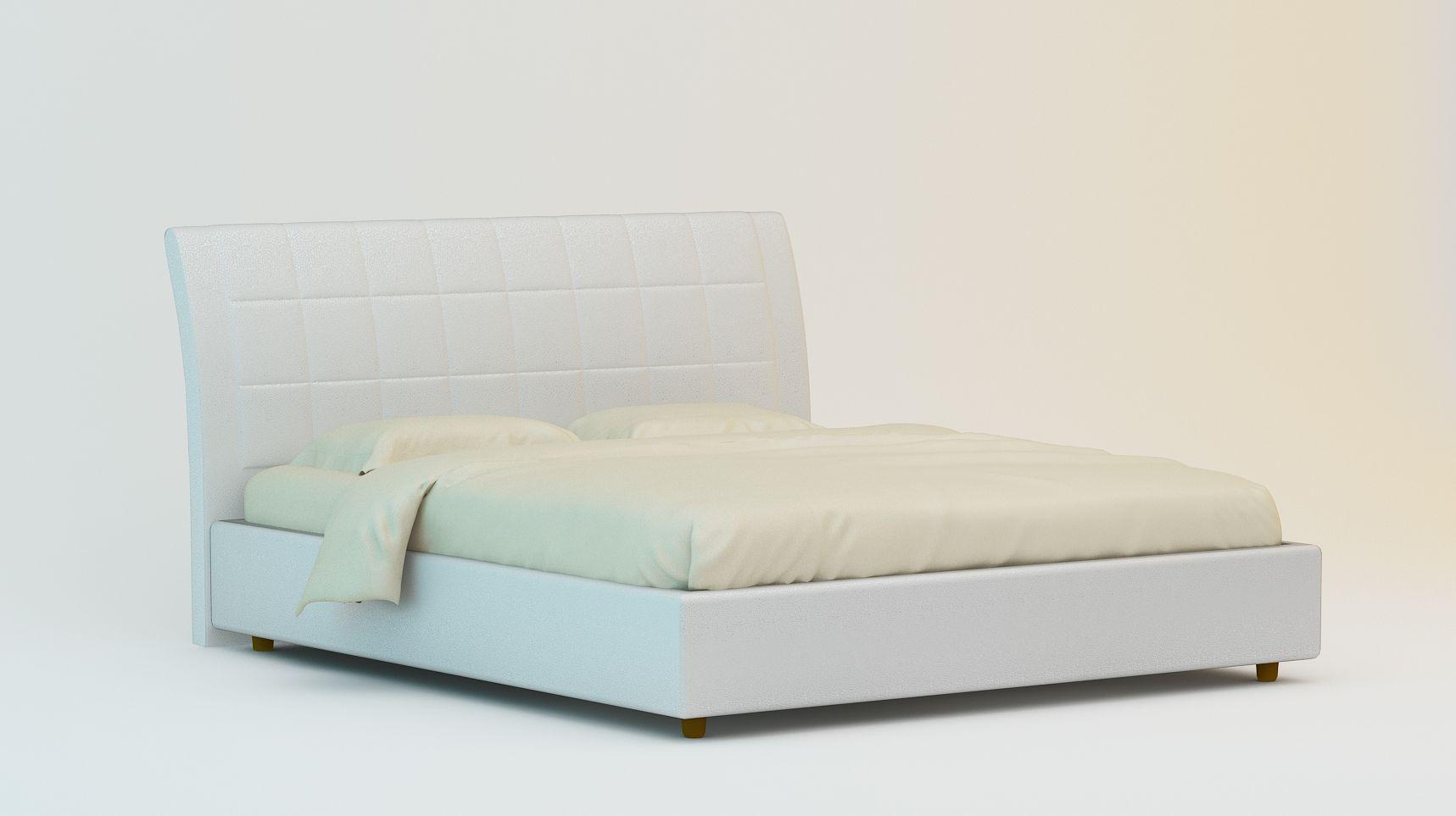 3D Bed Model 94 Free Download   Bed. Furniture. Soft seating