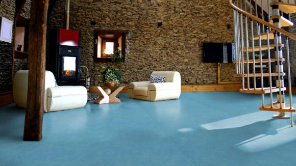 Forbo Marmoleum Linoleum Laguna Real Naturboden Vinylboden Linoleum Fussboden Linoleum