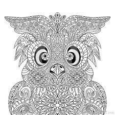 Resultado De Imagen De Mandalas De Animales Salvajes Owl