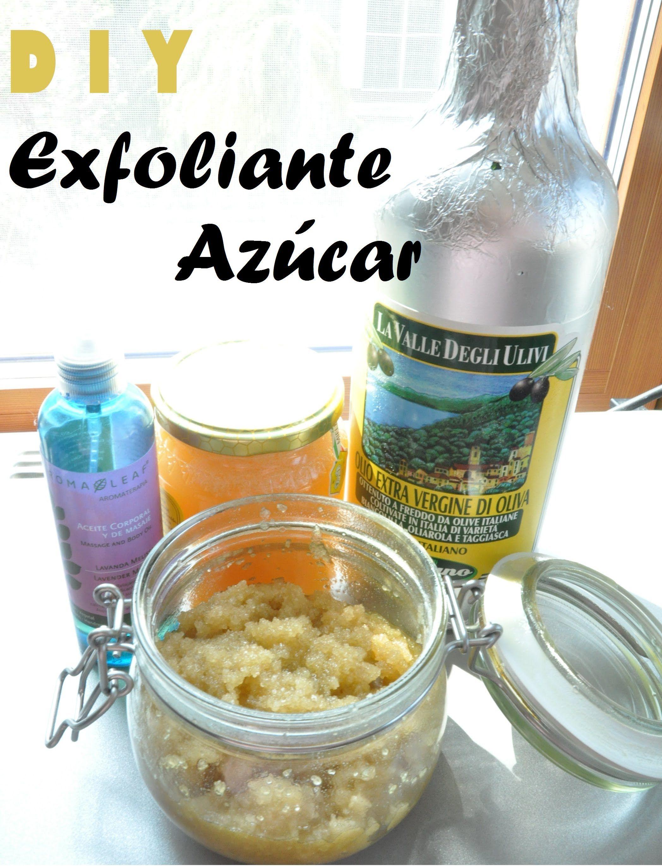 DIY exfoliante de azúcar para pies y manos   elizeth0785 natural y economico, el mejor exfoliante que he probado
