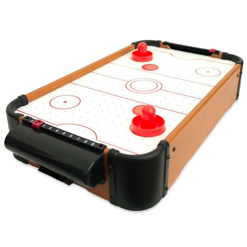Mini Tabletop Air Hockey Game 20 Inches Air Hockey Air Hockey Games The Game Is Over