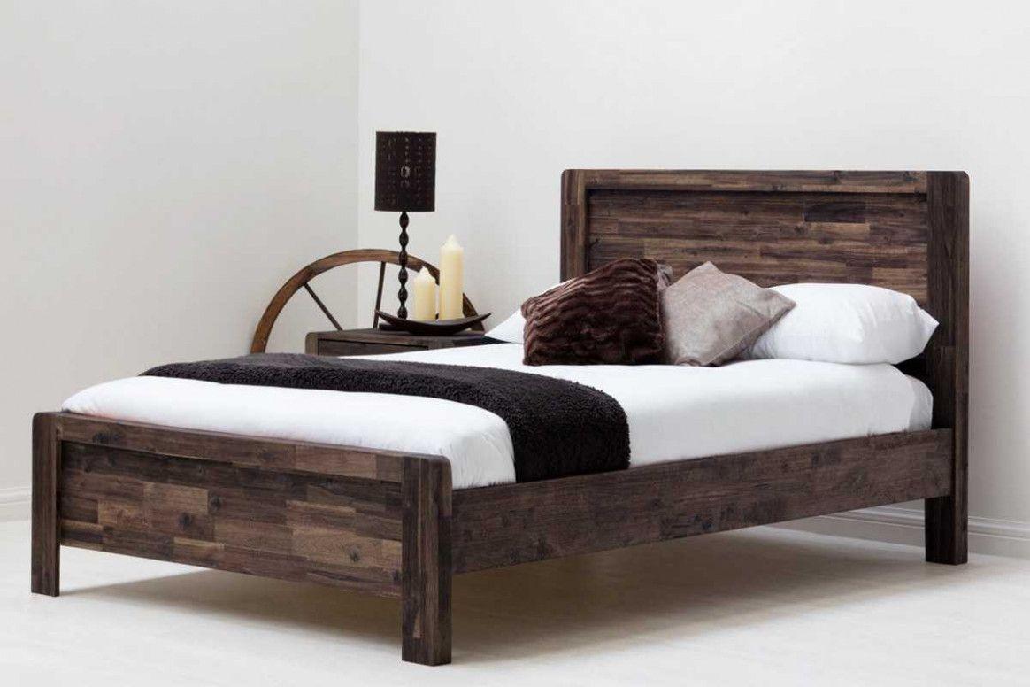 Delaware King Size Solid Wood Platform Bed Frame Cama De Madeira Estrado De Cama Jogos De Quarto
